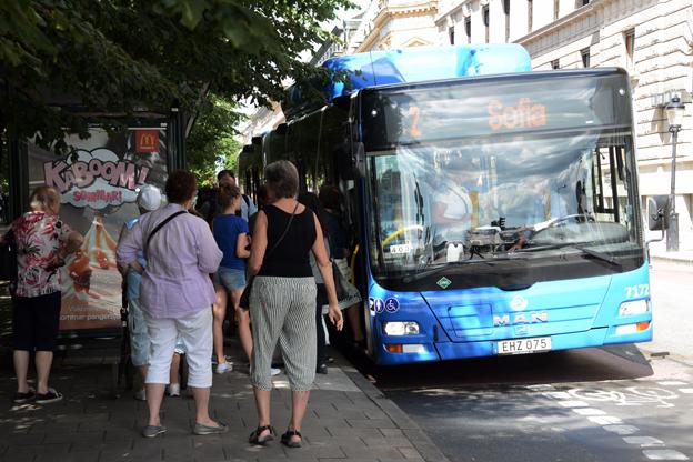 Ökningen av kollektivtrafikens marknadsandel har inte skett i storstadsområdena, konstaterar Trafikanalys. Foto: Ulo Maasing.