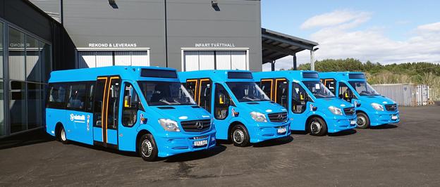 Vinga Bus Partner har fått en order på 43 flexbussar för leverans till Sandarna Transporter.