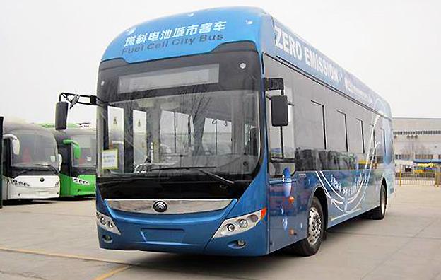 Världens största busstillverkare, Yutong, har fått klartecken för kommersiell produktion av bränslecellsbussar. Foto: Yutong.