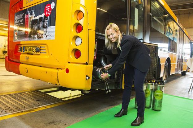Annika Isaksson, vd på danska Amminex som samarbetar med svenska Eminox när det gäller lösningar för avgasrening.
