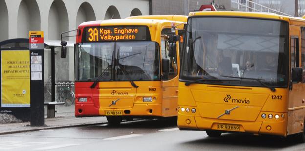 Vanliga bussar ja, men planerna på BRT och spårväg i Köpenhamn har lagts på is. Foto: Ulo Maasing.
