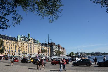 Nybroplan i Stockholm. Foto: Ulo Maasing.