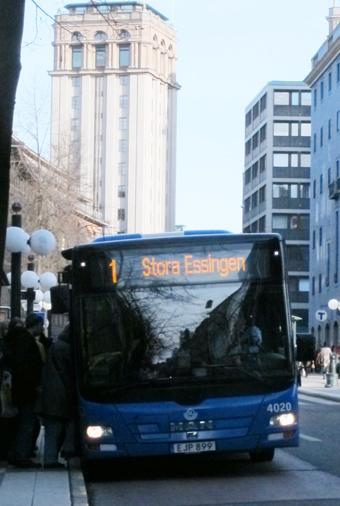 Nu ska ettan i Stockholm bli snabbare. Foto: Ulo Maasing.