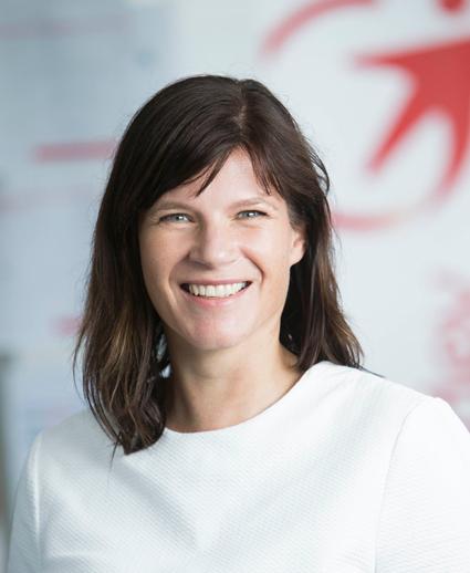 Eva Tiséus, kommunikations- och marknadsdirektör, Transdev Sverige.