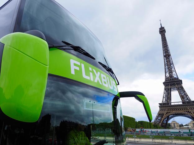 Ett veritabelt priskrig har brutit ut på den franska expressbussmarknaden. Tyska Flixbus är ett av de företag som snabbt har utnyttjat marknadsöppningen i landet. Foto: Flixbus.