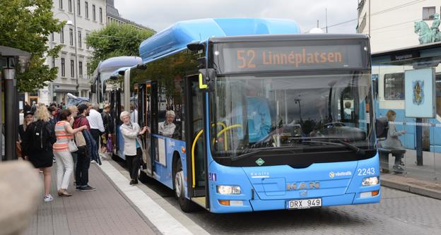 Göteborgs kommunala satsning på biogas till bland annat transportsektorn har blivit en dyr affär för skattebetalarna. Nu har Göteborg Energi skrivit ner värdet på sitt projekt GoBiGas från 850 miljoner till noll. Foto: Ulo Maasing.