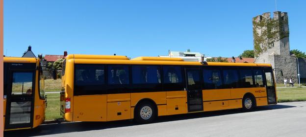 Dyrare bussbiljetter och nerlagda linjer väntar gotlänningarna. Foto: Ulo Maasing.