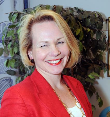 Anna Grönlund, Sveriges Bussföretag: Det går utmärkt att lägga trafikplikt på delar av dygnet och handla upp trafik då, utan att döda hela marknaden för kommersiell trafik. Foto: Ulo Maasing.