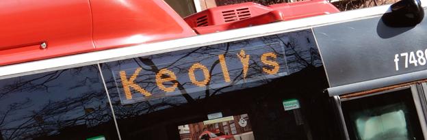 Keolis sänker lönerna för timanställda bussförare. Foto: Ulo Maasing.