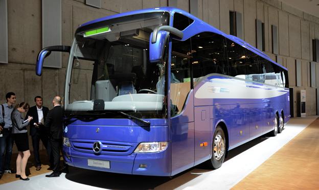 Jubilar 1: Mercedes-Benz Tourismo har sålts i 10 000 exemplar. Foto: Ulo Maasing.