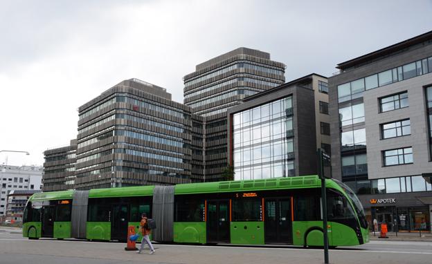 BRT-faktorn slår till: Under de senaste tolv månaderna har resandet med MalmöExpressen, Sveriges första BRT-liknande busslinje, ökat med 42 procent. Foto: Ulo Maasing.
