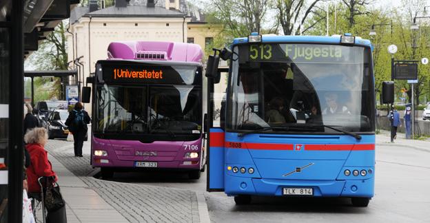 Alla bussar som kör kollektivtrafik i Örebro län får i vinter kommunikationssystemet Rakel. Foto: Ulo MAasing.