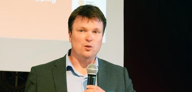 Svensk Kollektivtrafiks vd Stefan Sedin: Föreslagna energiskattehöjningar ökar kostnaderna för kollektivtrafiken, både för det offentliga och för bussföretagen. Foto: Ulo Maasing.