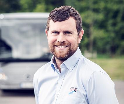 Patrik Pettersson, StångåBuss: En utmaning att få folk utanför bussbranschen att ta till sig fördelarna med HVO.