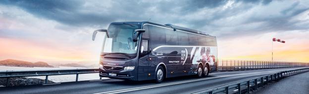 Volvo toppar nyregistreringarna av bussar i augusti. Foto: Volvo Bussar.