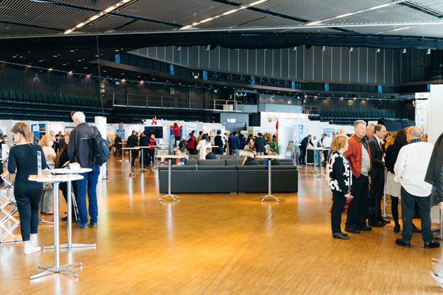 Drygt 2500 personer på två dagar räknade TUR in på sin Stockholmspremiär. Foto: Svenska Mässan.