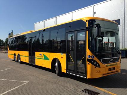En av 159 nya Volvobussar till Värmland och Nobina. Foto: Nobina.