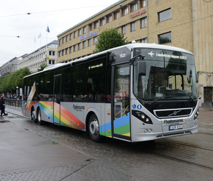 Västtrafik inleder också ett biljettsamarbete med Flygbussarna. Foto: Ulo Maasing.