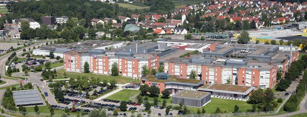 ZF:s huvudkontor i Friedrichshafen, Tyskland. Foto: ZF.