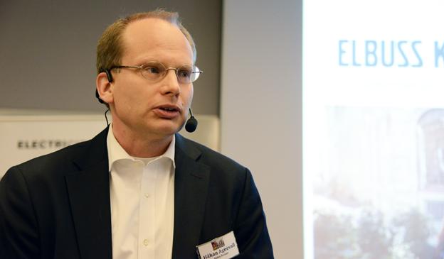 Volvo Bussars vd Håkan Agnevall: Vi står inför det största teknologiskiftet i bussindustrin i mannaminne. Foto: Ulo Maasing.