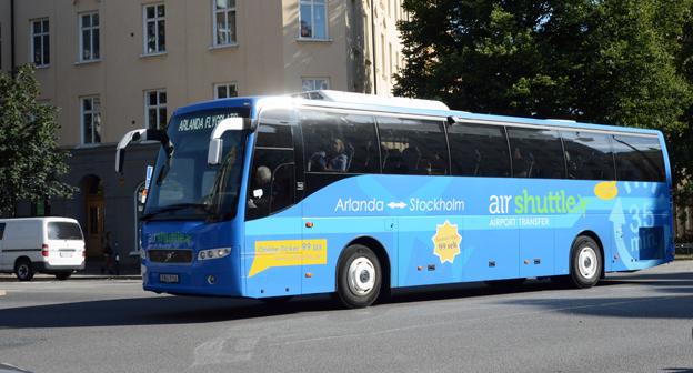 Air Shuttle överger Cityterminalen till förmån för mer centrala hållplatser i Stockholm. Foto: Ulo Maasing.