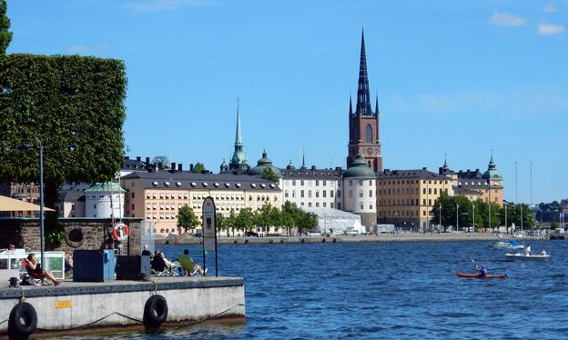 Stockholm är populäraste destination för bussturismen inom Sverige. Foto: Ulo Maasing.