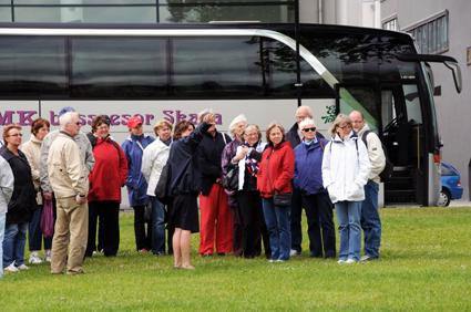 Arrangerade turistresor är den minsta delen av turistresandet med buss. Störst är beställningstrafiken, sedan följer turistresandet med bussar i linjetrafik. Foto: Ulo Maasing.