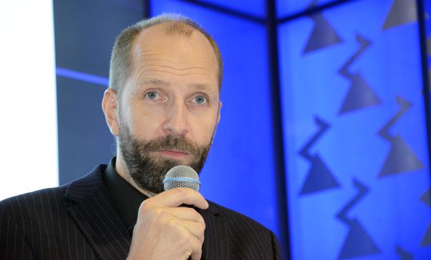 Jonas Hansson, vd, Hybricon Bus Systems: VW-skandalen påskyndar elektrifiering. Foto: Ulo Maasing.