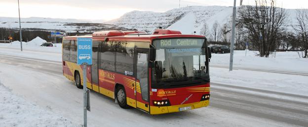 Alltför färgstarkt för Kiruna. Foto: Ulo Maasing.