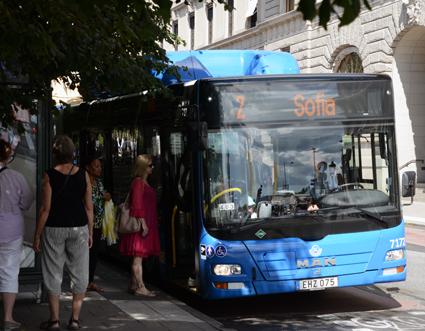 SL:s resenärer är nöjdare än någonsin sedan man började mäta kundnöjdheten år 2000. Foto: Ulo Maasing.
