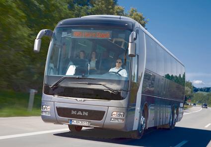 MAN:s bussverksamhet har gått betydligt bättre i år. Foto: MAN.