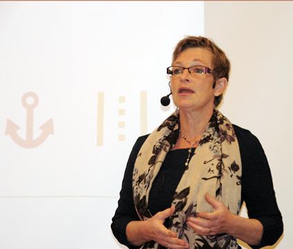 Transportstyrelsens generaldirektör Maria Ågren. Foto: Paula Isaksson.