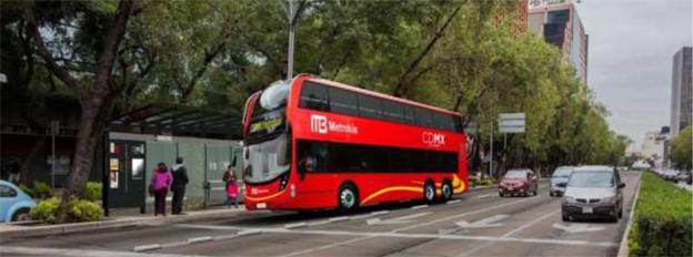 Brittiska Alexander Dennis har fått sin första latinamerikanska stororder. Ordern gäller 90 dubbeldäckare till en BRT-linje i Mexico City. Illustration: ADL.
