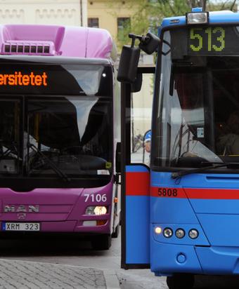 Region Örebro län missar målet för kollektivtrafiken. Men kostnaderna skenar. Foto: Ulo MAasing.