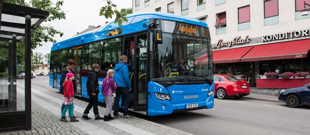Scania toppade nyregistreringarna av tunga bussar under september. Foto: Scania.
