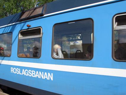 Bör bytas mot buss på kvällarna, anser Arriva. Foto: GurraJG/Wikimedia Commons.
