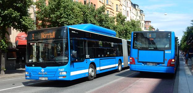 Snabbare bussar och mindre trängsel skulle locka till hundratusentals nya kollektivresor varje dag. Foto: Ulo Maasing.