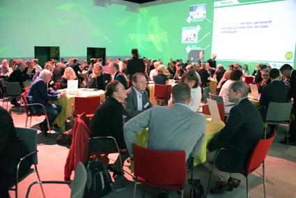 Samtrafikens konferens samlade omkring 200 deltagare från hela den svenska kollektivtrafikbranschen. Foto: Ulo Maasing.
