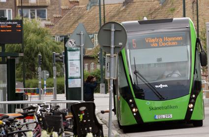Stadsmiljöavtalen innebär att kommuner och landsting kan söka bidrag till satsningar på infrastruktur för kollektivrafiken. Foto: Ulo Maasing.