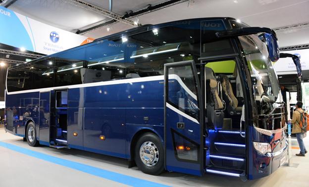 Temsa lanserar nu sin turistbuss Maraton i europeiskt utförande. Foto: Ulo Maasing.