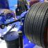 """Ziehl-Abeggs navmotor, """"ZAwheel"""" är monterad individuellt i de båda bakhjulen på bussen. Ett bredare hjul ersätter dubbelhjulen. Foto: Ulo Maasing."""