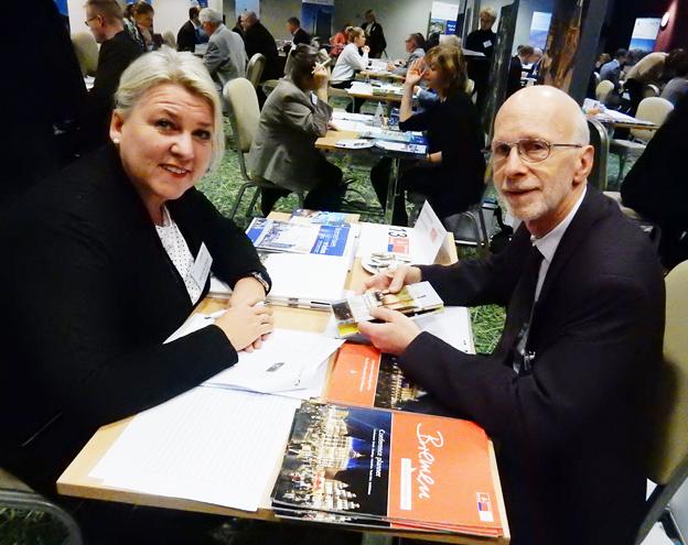 Marianne Lidvall, Lundwall Tfavel och Bremens Jürgen Wenderhold. Foto: Ulo Maasing.