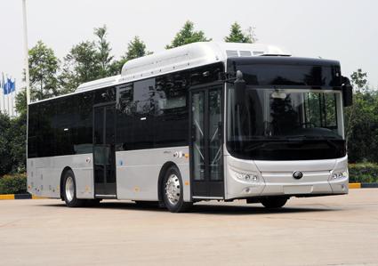 Yutong siktar på Europamarknaden med sin nya, eldrivna stadsbuss E12. Bild: Yutong.