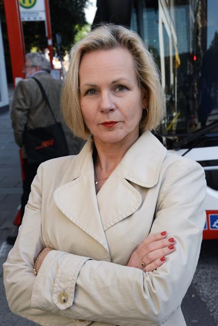 Backar inte från sin kritik av Transportstyrelsen: Anna Grönlund, vice vd Sveriges Bussföretag. Foto: Ulo Maasing.