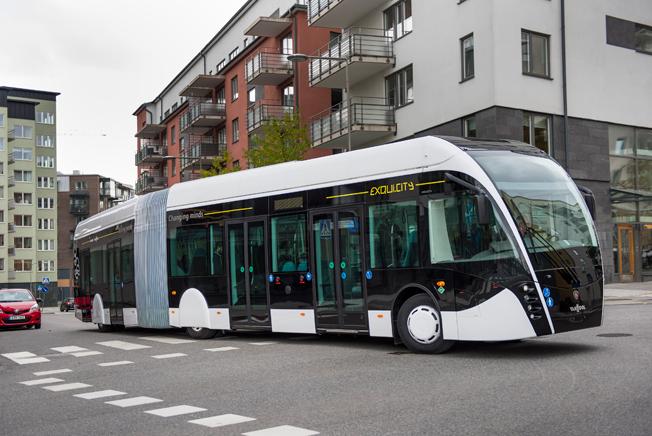 BRT har hög prioritet i Storstockholm. Bild: Scania.
