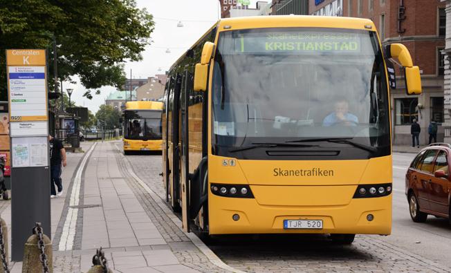 Skånetrafiken höjer sina bijettpriser den 13 december. Foto: Ulo Maasing.