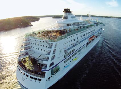 Birka sätter kurs norrut i sommar. Foto: Birka Cruises.