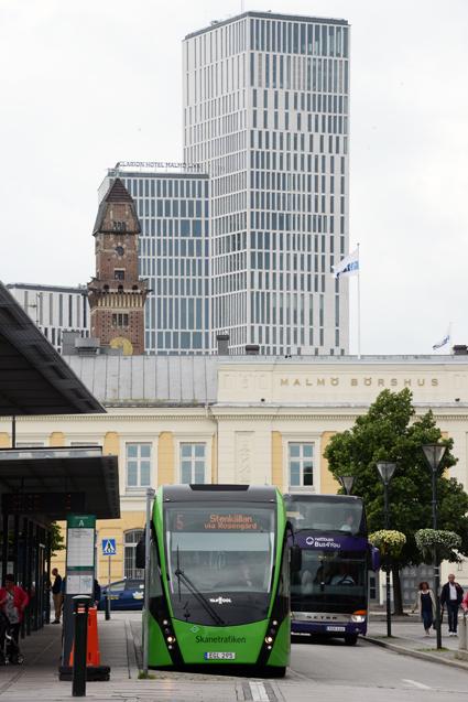Malmöexpressen lyfts fram som ett gott exempel av artikelförfattarna. Foto: Ulo Maasing.