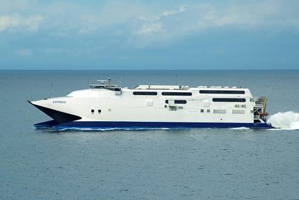 Med HSC Express kommer Gotlandsbåten att till sommaren trafikera både Västervik och Nynäshamn från Visby. Foto: Gotlandsbåten.