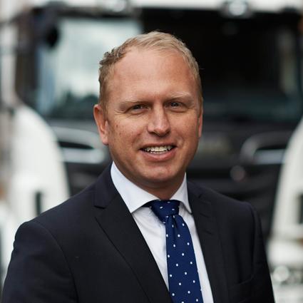 Henrik Henriksson tar över som vd och koncernchef för Scania från årsskiftet. Foto: Scania.